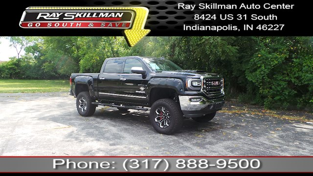 new 2018 gmc sierra 1500 slt black widow truck in indianapolis rh rayskillmanautocenter com 2000 GMC Sierra 1500 2000 GMC Sierra Engine Diagram