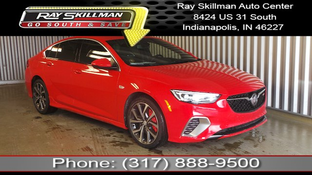 New 2019 Buick Regal Sportback Gs Hatchback In Indianapolis 6278