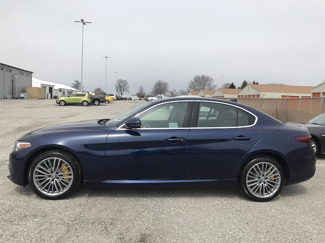 New 2018 Alfa Romeo Giulia Ti Sedan in Indianapolis A1074