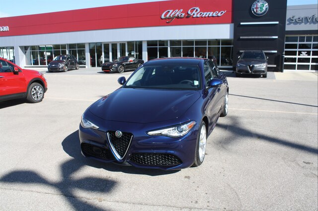 New 2019 Alfa Romeo Giulia Ti Sedan In Indianapolis A1087 Ray