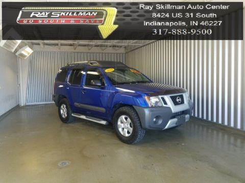 Pre-Owned 2012 Nissan Xterra S